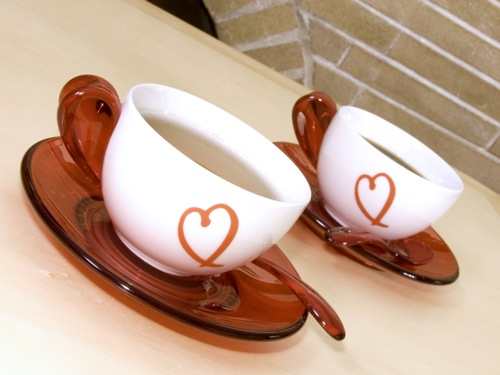 Coffee Cups Love