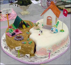 divorce-cake-heart-broken