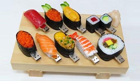 sushi thumbdrive
