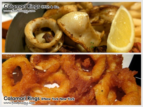 Calamari Rings (Fish&Co vs NYNY)