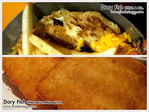 Dory FIsh (Fish & Co vs NYNY)