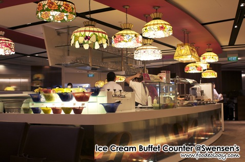 Ice Cream Buffet Counter_Swensen's