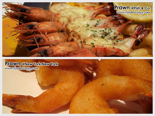 Prawn (Fish & Co vs NYNY)