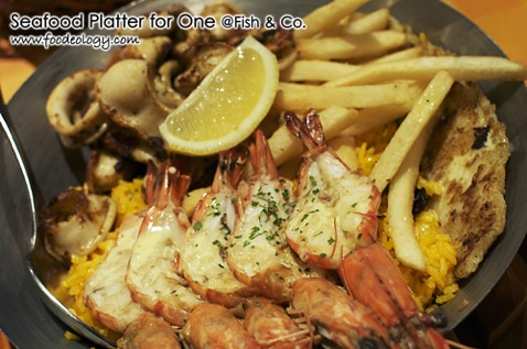 Seafood Platter for One_Fish & Co