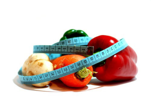 Slimming Vegetables and Fruits