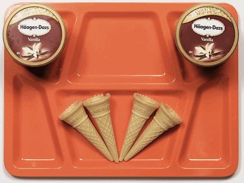 last supper_cones