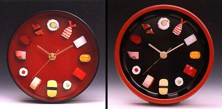 Sushi clock