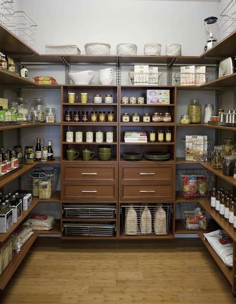 Adjustable Pantry System
