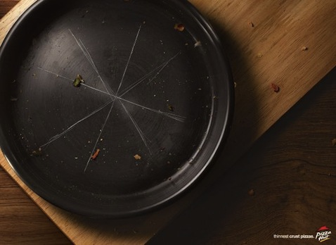 Pizza Hut Thin Crust Ad