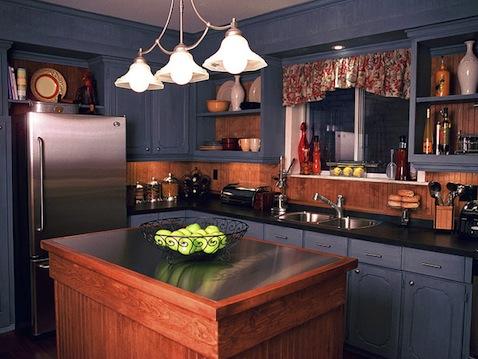 kitchen-color-blue-black
