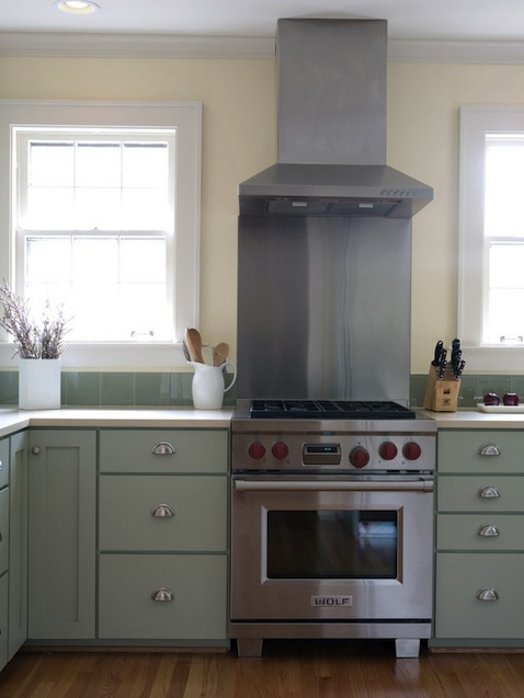 kitchen-color-green-silver