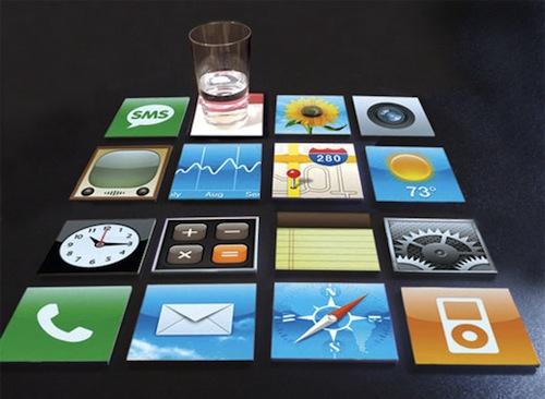 iphone coaster