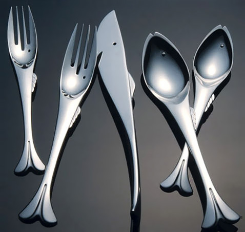 fish cutlery set