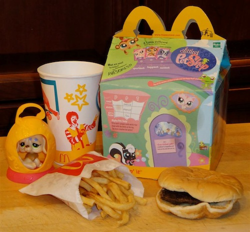 Happy Meal 1 Years Old McD