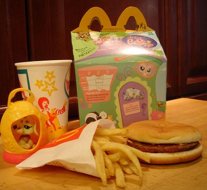happy meal 1 year before
