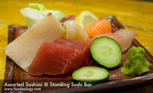 Assorted-Sashimi_Standing Sushi Bar