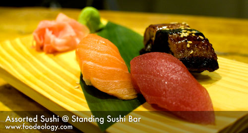 Assorted Sushi_Standing Sushi Bar