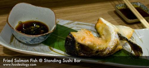 Fried-Salmon-Fish_Standing Sushi Bar