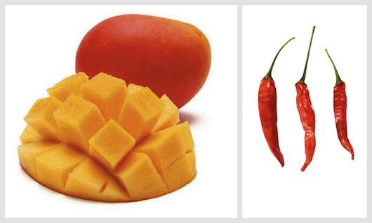 mango and cayenne