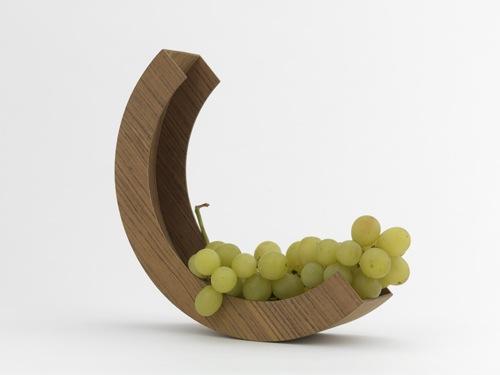 vessel fruit bowl