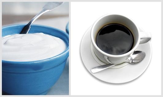 yogurt and espresso