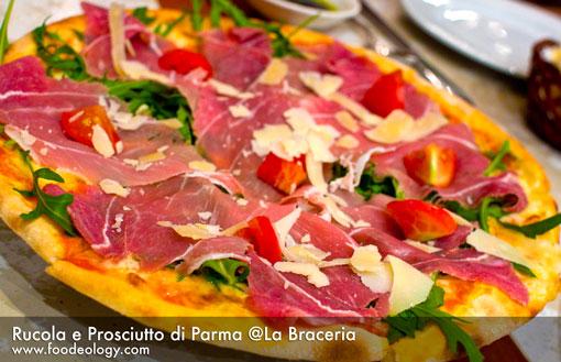 Rucola e Prosciutto di Parma