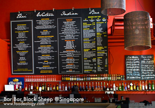bar bar black sheep menu