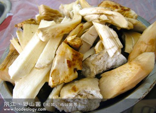丽江野山菌