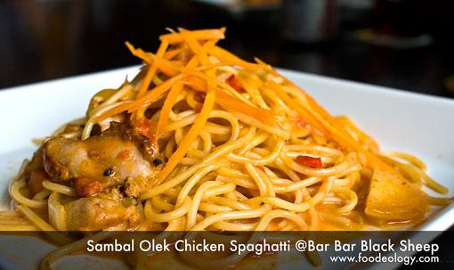 Sambal-Olek-Chicken-Spaghatti