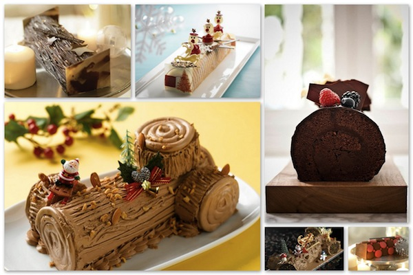 Yule Log Cakes 2010