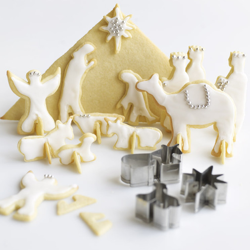 Nativity 3D Cookie Cutters