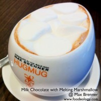 Milk Chocolate with Melting Marshmallow Max Brenner