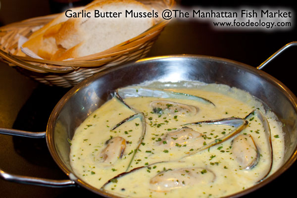 Garlic Butter Mussel Manhattan Fish Market