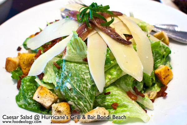 Caesar-Salad_Hurricane's-Bondi-Beach