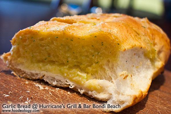 Garlic-Bread-Cut_Hurricane's-Bondi-Beach
