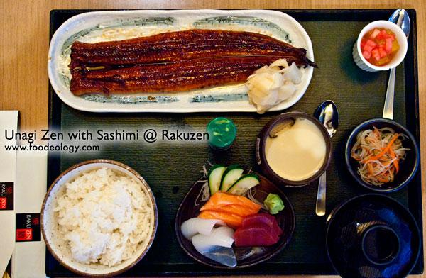 Unagi-Zen-with-Sashimi_Rakuzen