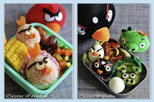 Cuisine Paradise_angry birds bento