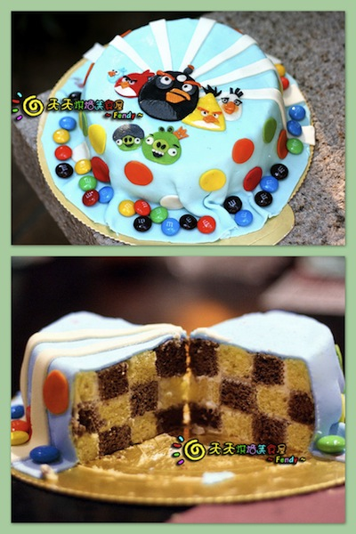 Fendy_angry birds cake