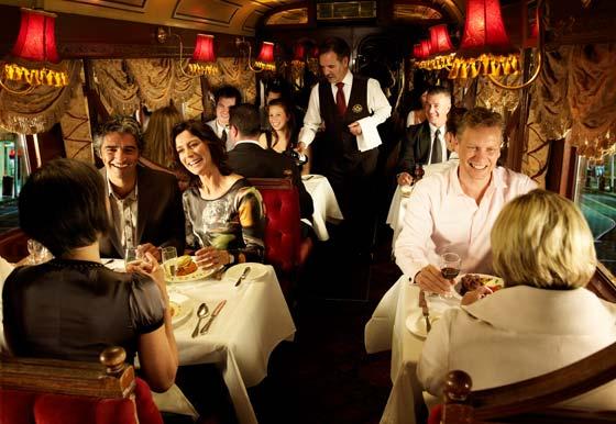 Colonial Tramcar Restaurant Interior