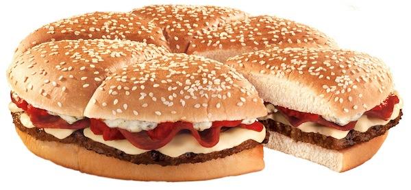 Burger King's new Pizza Burger