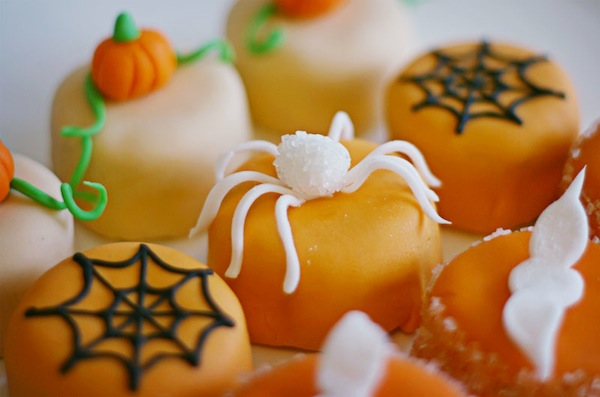 Halloween Petit Fours From I Am Mommy