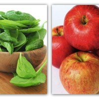 Spinach and Apple
