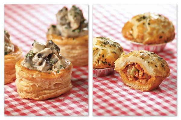 Crystal Jade_Mini Spicy Minced Pork & Bean Pie and Sambal Crabmeat Vol-Au-Vent