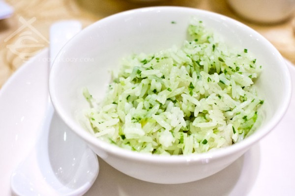 Steamed-QQ-rice-w-scallion-oil_Crystal jade kitchen