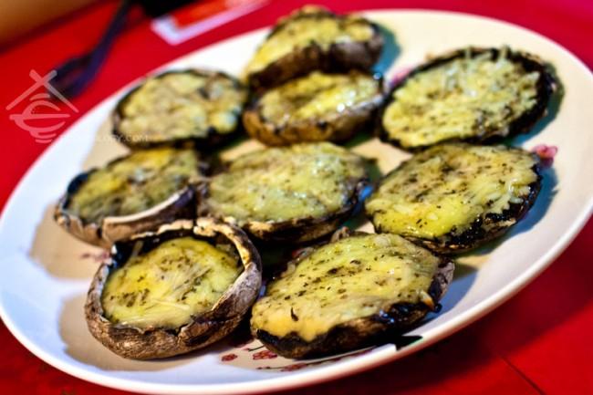 Herb-Butter-Button-Mushroom_HungryBBQ
