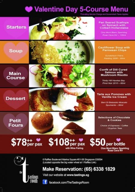 v day menu 2012_The Tastings Room