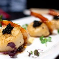 Pan-seared-Prawns-and-Scallops-on-Onion-Confit_Covelli