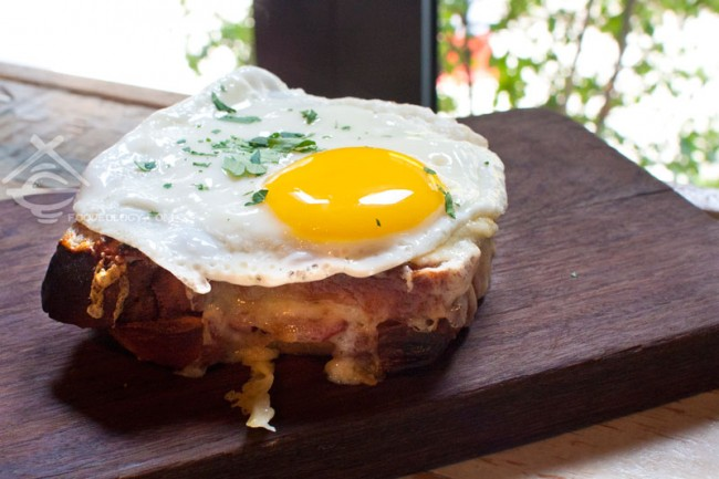 Croque Monsier with Madame