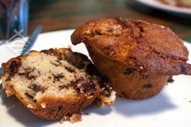 Chocolate & Macadamia Muffin