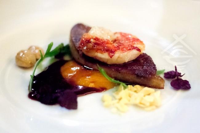 Seared-Foie-Gras-and-Alaskan-King-Crab_H-Bistro